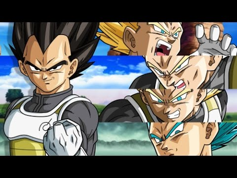 Dragon Ball ZSuperVegeta TributeAmv EpicHalf Truism