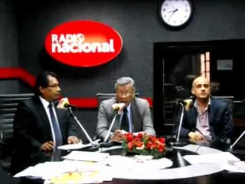 Entrevista en Radio Nacional a Raúl Villanueva Pasquale, especialista en Derecho Internacional
