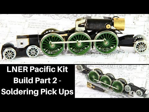 Lets Build DJH LNER Pacific Part 2 Soldering Chassis & Pick Ups