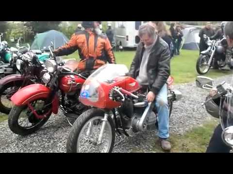 Harley-Davidson Riders' Club of Great Britain Vintage and Sportster ride-out