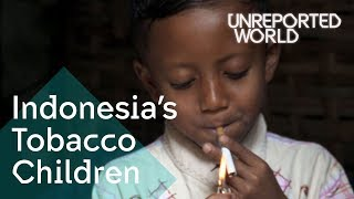 Indonesia's Tobacco Children | Unreported World