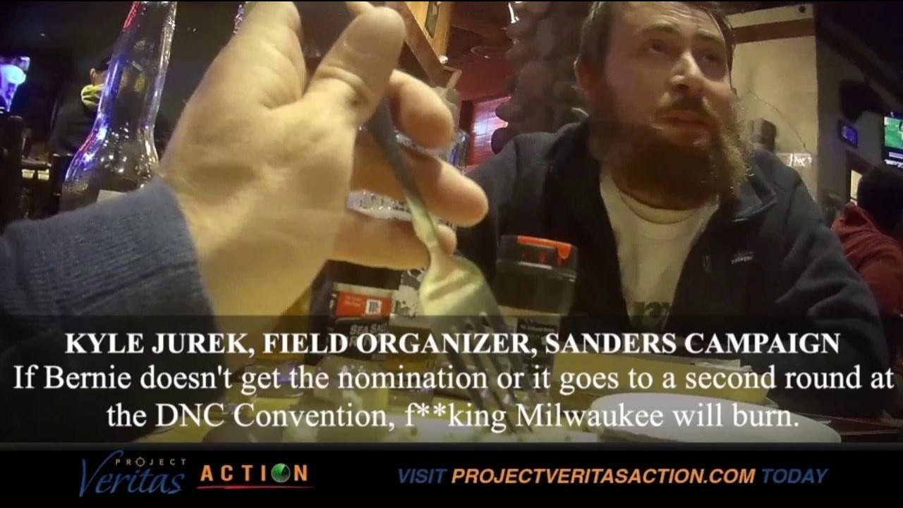 "#Expose2020: Sanders Campaign Part 1; Field Organizer ""F**king Cities Burn"" if Trump Re-El"