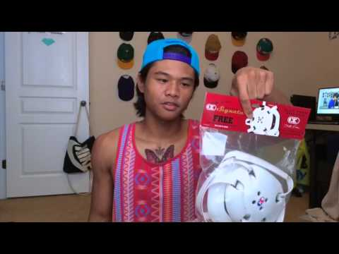 WHITE Cliff Keen Signature Wrestling Headgear Unboxing
