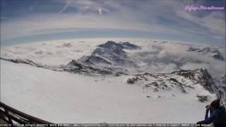 Timelapse Capanna Gnifetti, Monte Rosa - 21 Marzo 2017