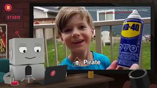 ROBOT WATCHES Try Not To Laugh Watching Funny Kids Fails Compilation December 2018 #3 - Co Vines✔