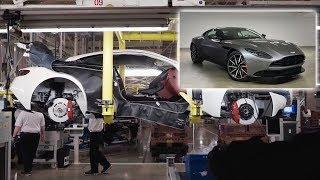 Aston Martin DB11 2018 - Процесс сборки автомобиля