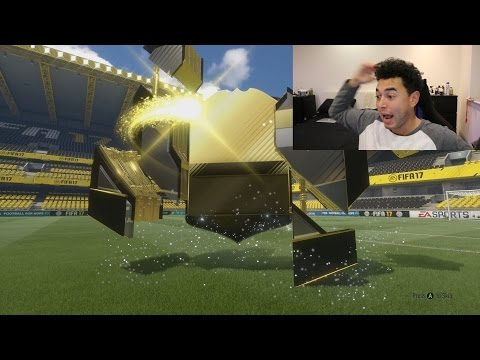 OMG MY BEST INFORM ON FIFA 17!! - FIFA 17 PACK OPENING!!