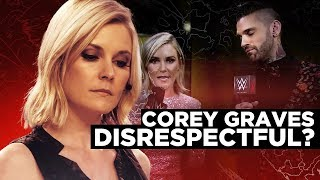 Corey Graves' WWE Job AT RISK After EXTREMELY PERSONAL JABS At Renee Young Gets LEAKED - She Reacts