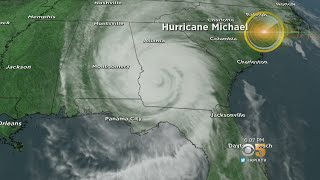 Hurricane Michael Now A Category 1 Hurricane; 1 Man Killed