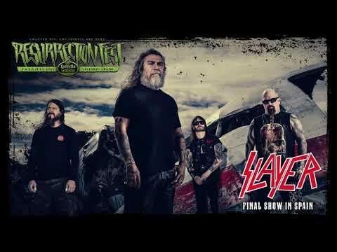 Resurrection Fest EG 2019 - Slayer announcement - Last show in Spain!