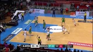 Anadolu Efes - Darüşşafaka Doğuş Yarı Final 2. Maç / Maç Özeti