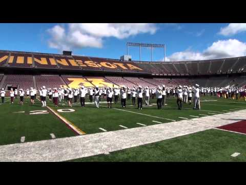 University of Minnesota Marching Band 2013 Recruitment Video