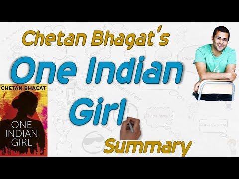 One Indian Girl By Chetan Bhagat - Novel Summary( Hindi) by