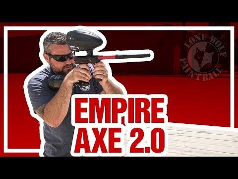 Shooting the Empire Axe 2.0 Paintball Gun | Lone Wolf Paintball Michigan