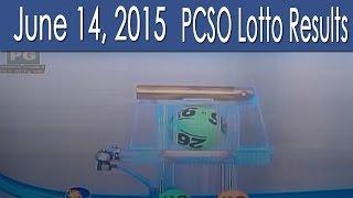 PCSO Lotto Results June 14, 2015 (6/58, 6/49, Swertres & EZ2)