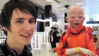 One of LessAmazingPhil's most viewed videos: Terrifying baby woman!