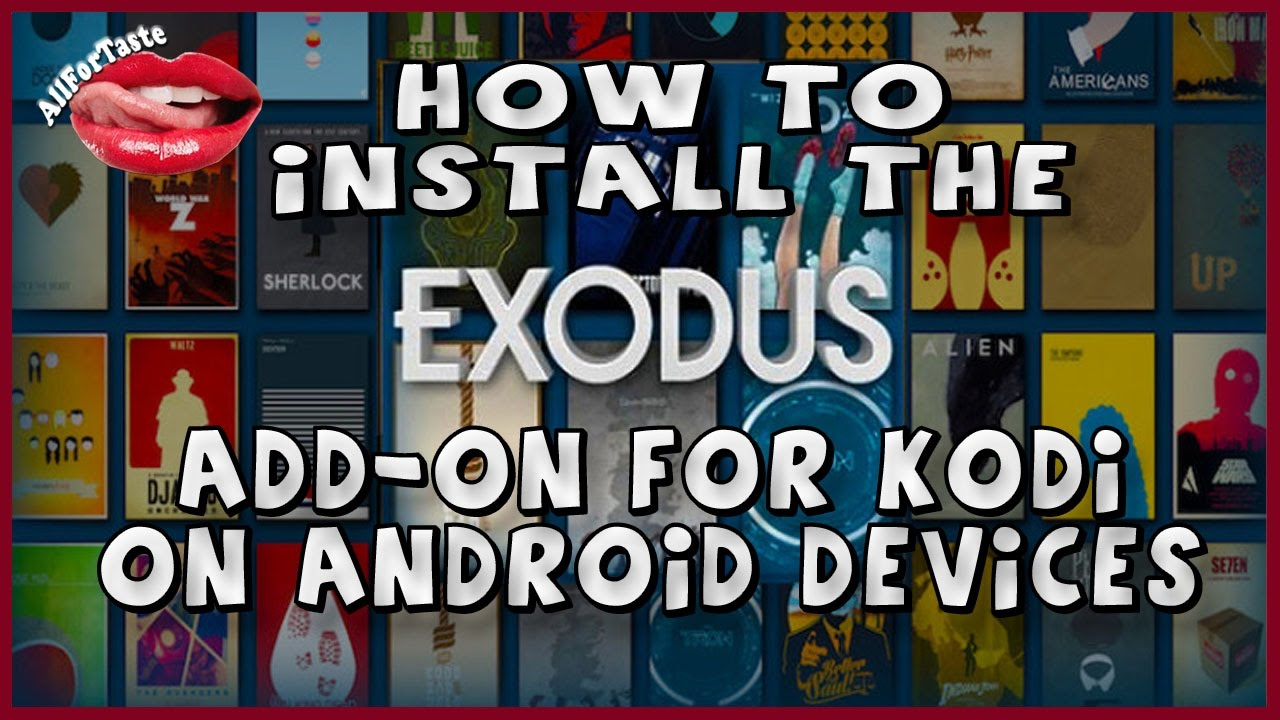 how do i install exodus on my android tablet