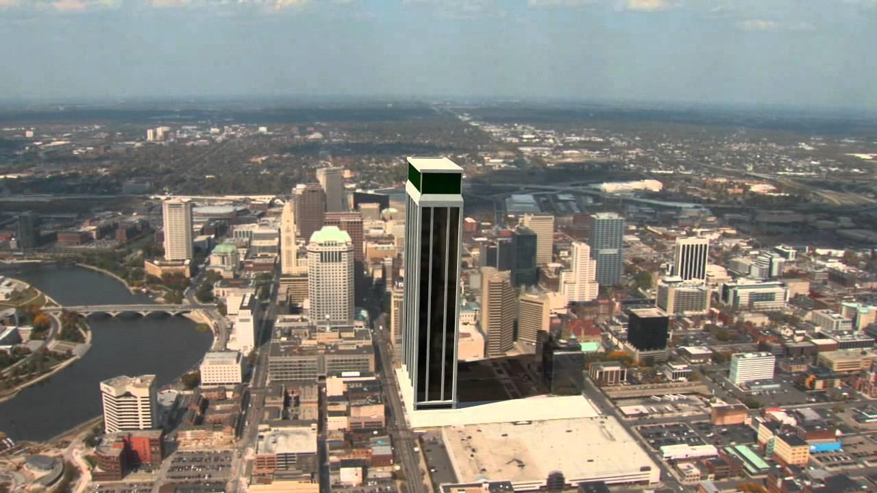 Fake Skyscraper In Columbus, Ohio