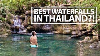 BEST WATERFALLS IN THAILAND | Kanchanaburi, Thailand 🇹🇭