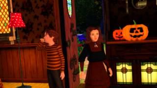 Sims 3 - Happy Halloween