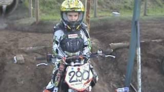 Loie Ann Webb 9 year old girl KTM 65 cc QLD champion