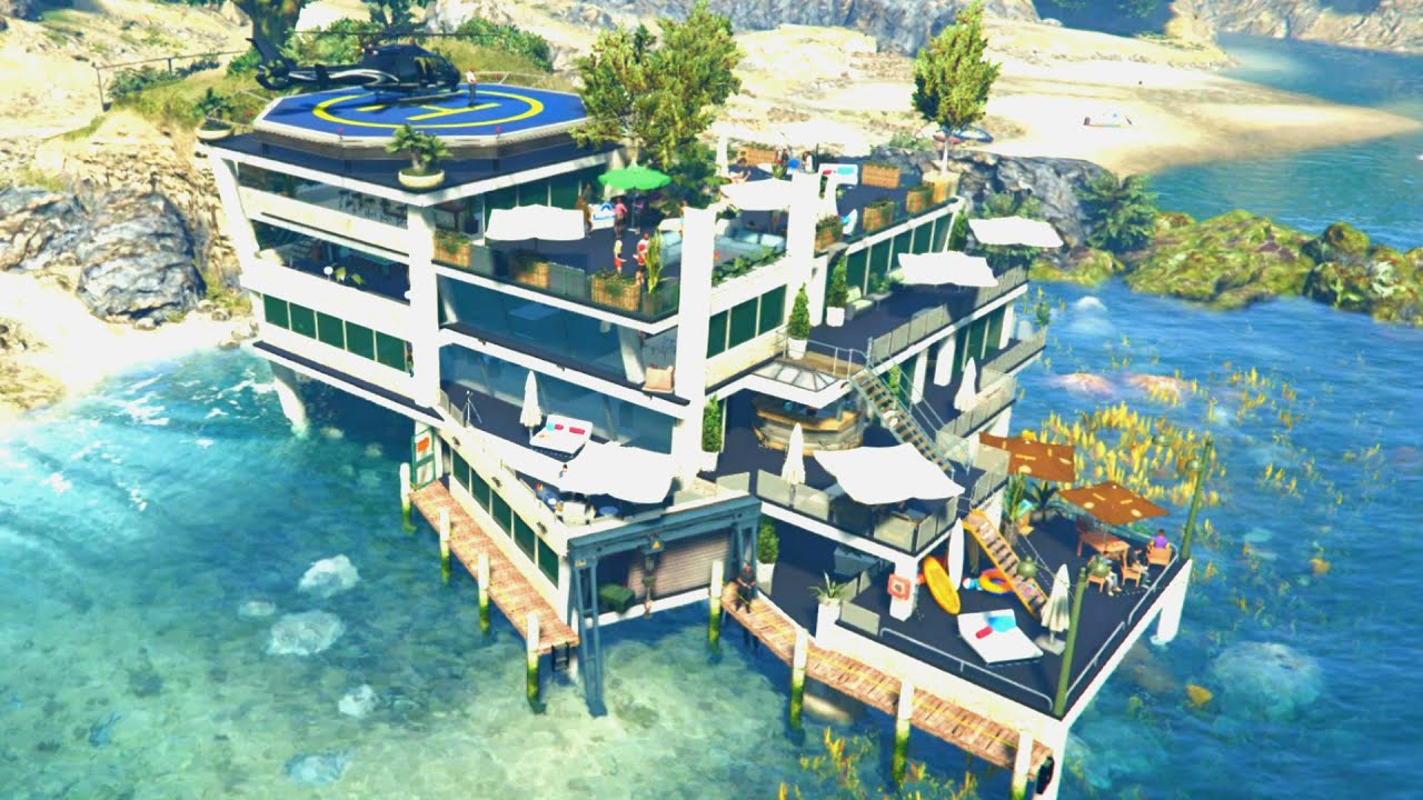 Cool Pool Houses Gta 5 Mods Luxury Billionaire Lifestyle Mansions Mod