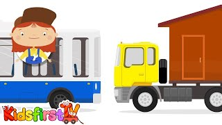 Doctor McWheelie & truck for kids. Cartoons.