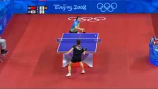Wang Nan vs Park Mi Young (2008 Olympics)