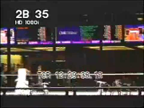 Chicago Stock Exchange TL 35mm 1 - Signs & Monitors - Best Shot Footage - Stock Footage