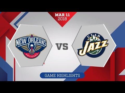 Utah Jazz vs. New Orleans Pelicans - March 11, 2018