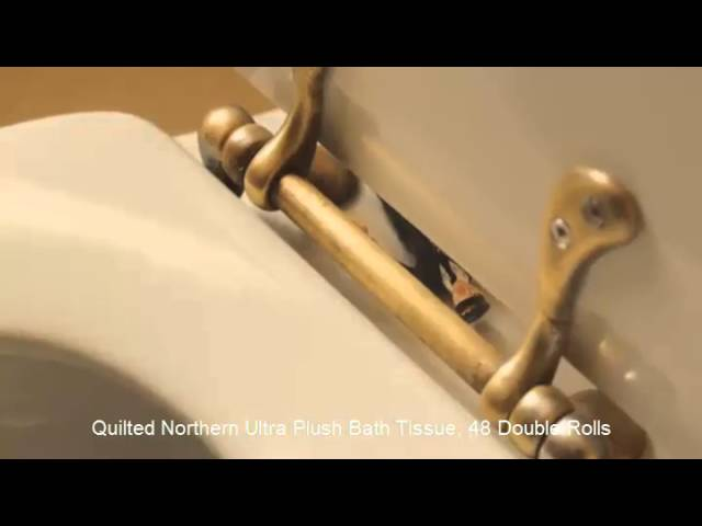 Video Review Quilted Northern Ultra Plush Toilet Paper 12 Double