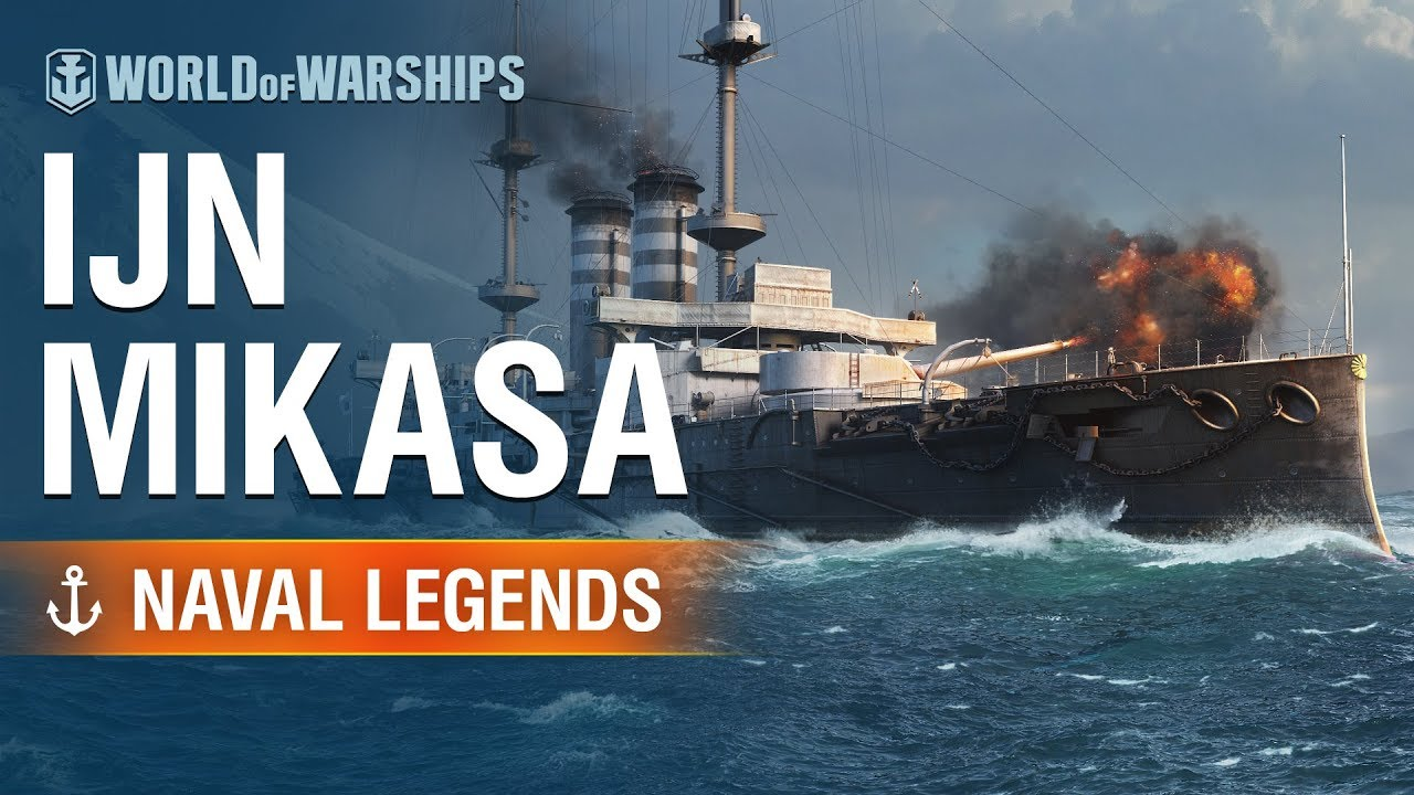 [World of Warships] Naval Legends: Mikasa Battleship - YouTube