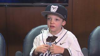 Butler University baseball team signs 6-year-old 'recruit'