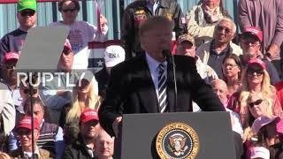 USA: Trump takes shots at Democrats and Joe Biden at Elko rally