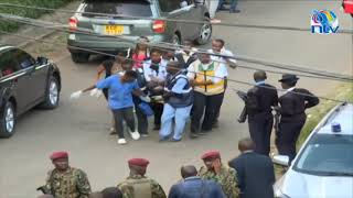 Casualties evacuated at the Dusit Hotel along 14 Riverside Drive