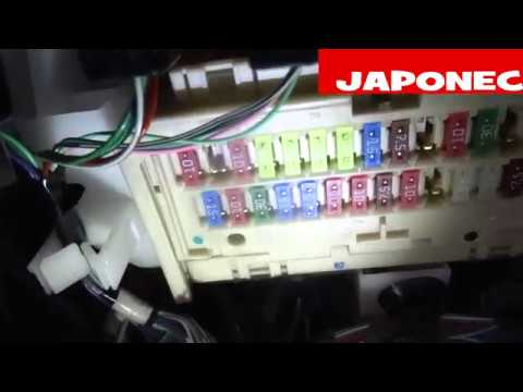 how to replace lighter fuse location on toyota avensis iii - japonec