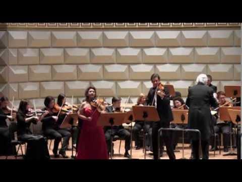 Mozart Sinfonia Concertante - Ervis Gega - Violine & Lech A. Uszynski -Viola