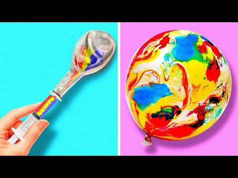 25 ORIGINAL BALLOON HACKS AND CRAFTS