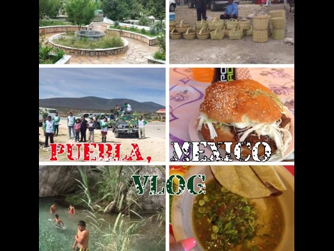 PUEBLA, MEXICO VLOG (springbreak) | Themorenaland
