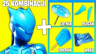 25 Battle PASS Skin COMBINATIONS in FORTNITE