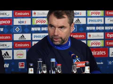 Was HSV-Trainer Hollerbach fürs Dortmund-Spiel plant