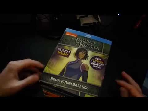 The Legend of Korra Book 4 Blu-ray Unboxing