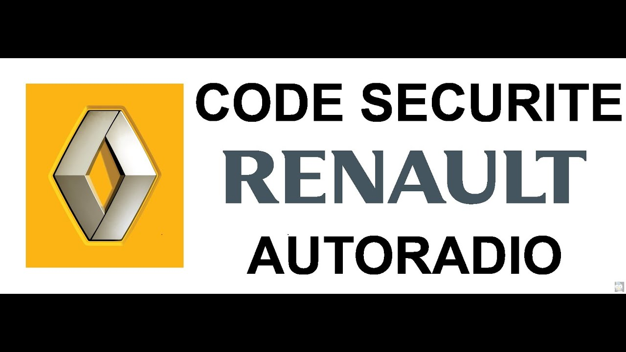 comment r cup rer le code radio video how to enter a renault radio code. Black Bedroom Furniture Sets. Home Design Ideas