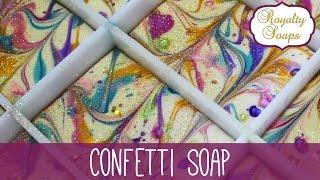 ♕ Confetti Soap ♕