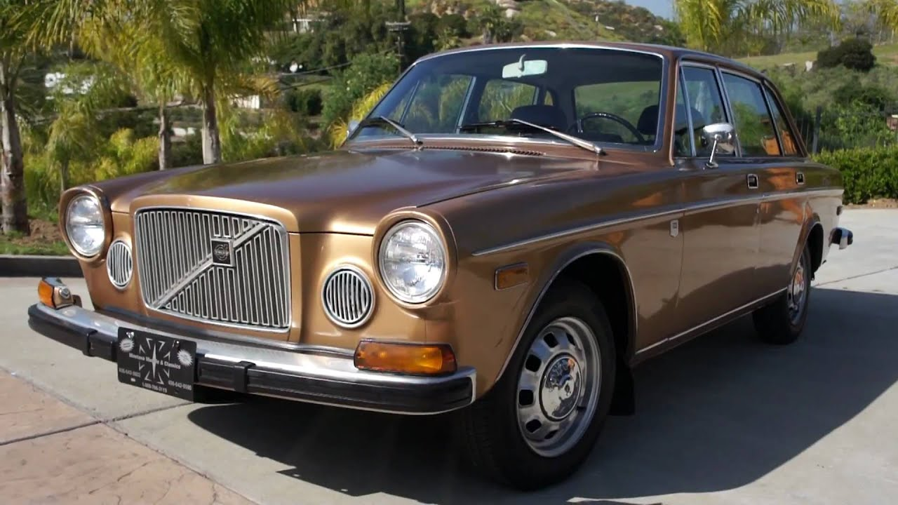 1973 Volvo 164E 1 Owner Classic 6 Cyl Fuel Injected Luxury Saloon ...