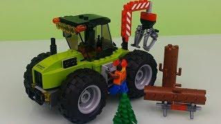 LEGO City 60181 Traktor leśny NOWOŚĆ 2018