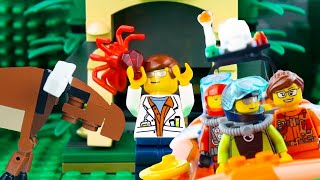 LEGO City Stop Motion | Wild Adventures | LEGO Exploring Wilderness! | Toy Store | Toys For Kids