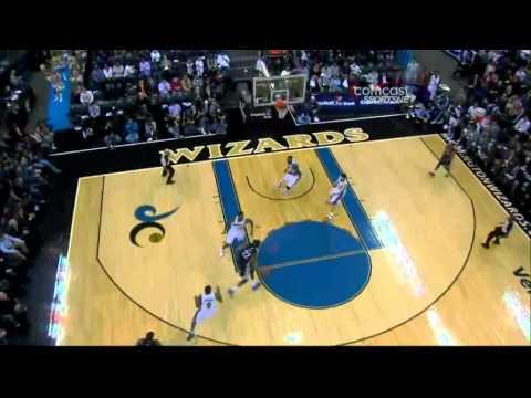 Marc Gasol vs Wizards (19-11-2010)