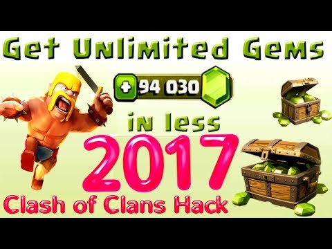 Clash Of Clans Hack   JULY 2017 Free Gems Hack For Clash Of Clans   200% WORKING WITH PROOF