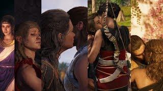 Assassin's Creed Odyssey All Romance Scenes (4hr 30mins)
